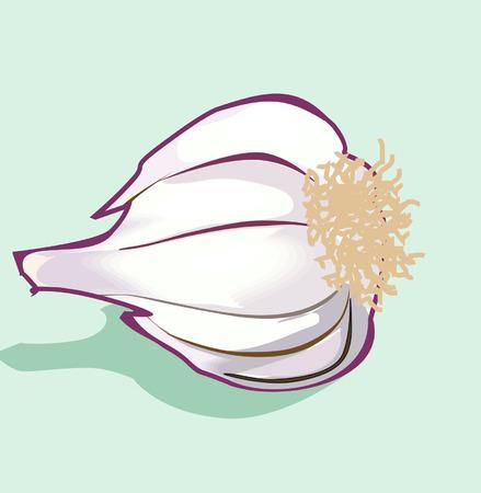 pealing: Garlic