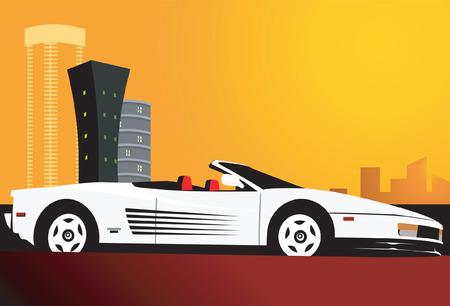 limo: Car near the skyscraper