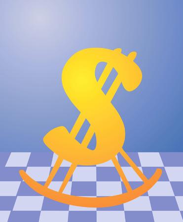 easy chair: Swinging Dollar on easy chair
