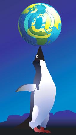 antartide: Business con l'Antartide attraverso la posta