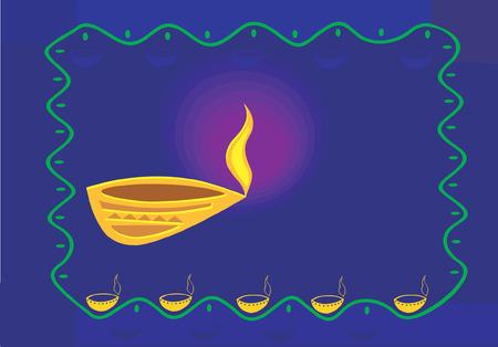 oillamp: oil-lamp, Illustration
