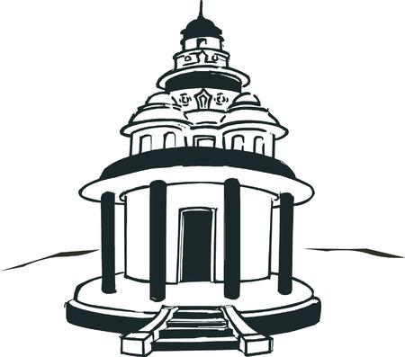 3 853 hindu temple stock vector illustration and royalty free hindu rh 123rf com temple clipart temple clipart