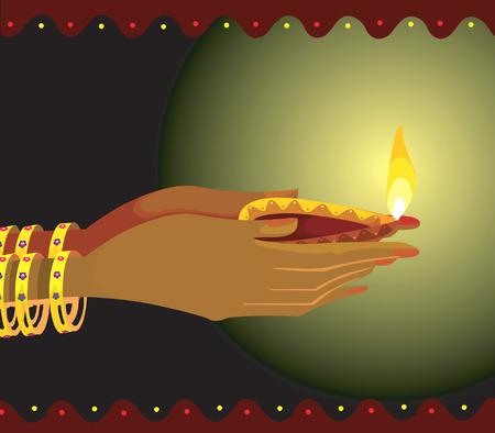 lampa naftowa: Holding lampy naftowej