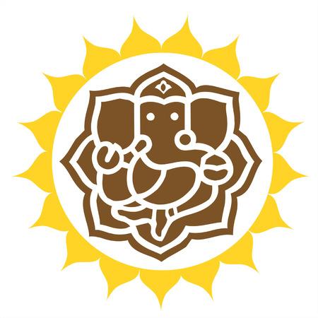 ganesh: Ganesh op Lotus
