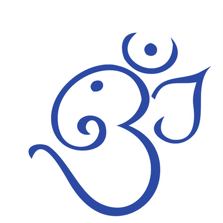 Ohm shaped Ganesha, Illustration