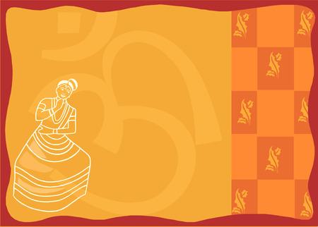 kerala culture: Mohiniyattam Traditional form of dance  from kerala