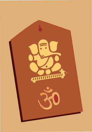 Image of Ganesha and ohm Stock Vector - 1727958
