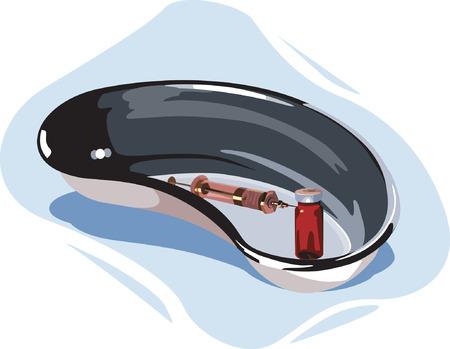insulin syringe: Medical Tray,