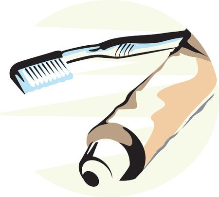 toiletry: Tooth Brush and tooth paste to brush.