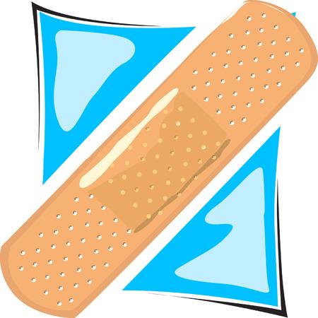 Bandage de prot�ger la plaie