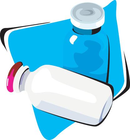 ascorbic: Dos botellas de t�nica