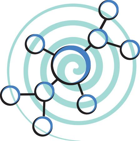 enlaces quimicos: Estructura molecular