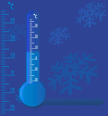 dipping:  Thermometer  Illustration