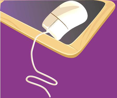 input device: mouse on a slate