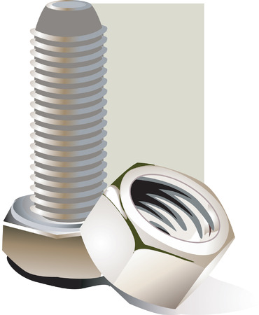 fittings: Nut and bolt,