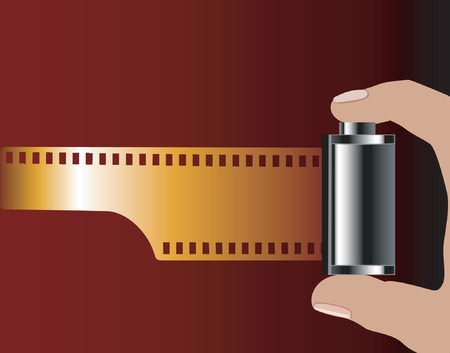 negativity: Pulling out the Film from role Illustration