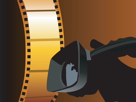 Video camera and film