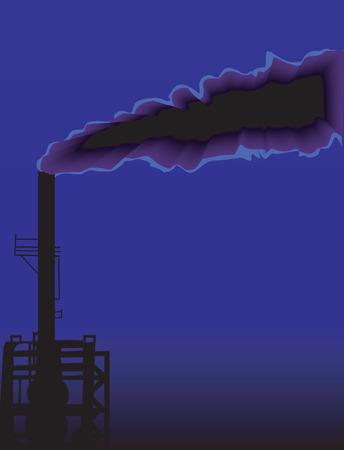 overlook: Industrial pollution