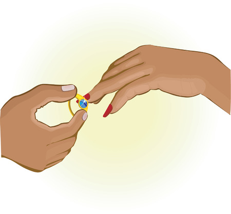 Illustrations of Ring exchange Vector