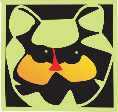 doings: Mask for all doings, Illustration