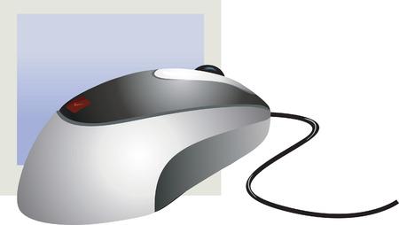 clique: Optical mouse Illustration