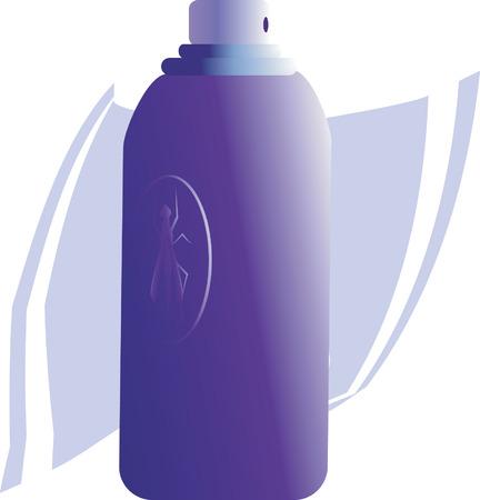 perfume atomizer: spray bottle