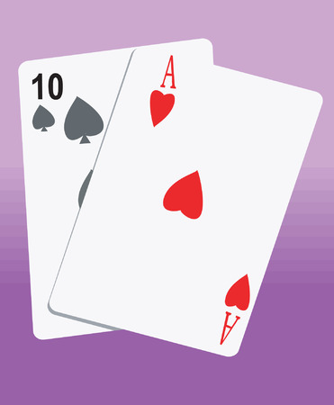 solitaire: Playing Cards  Illustration