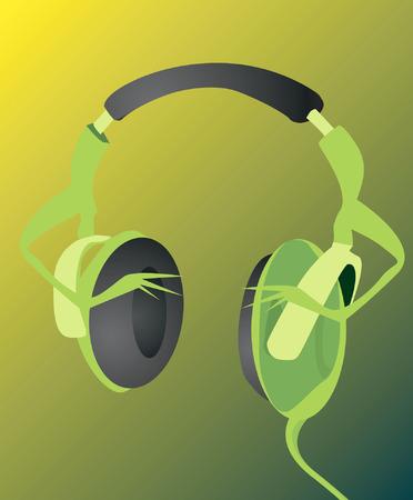 head phone: Jefe de tel�fono de la luz