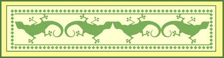 dragonet: Illustrations of lizards Illustration