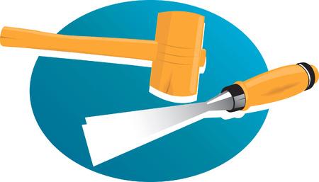 workmanship: A silhouette tool Illustration
