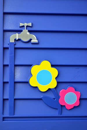 colores: regar Stock Photo