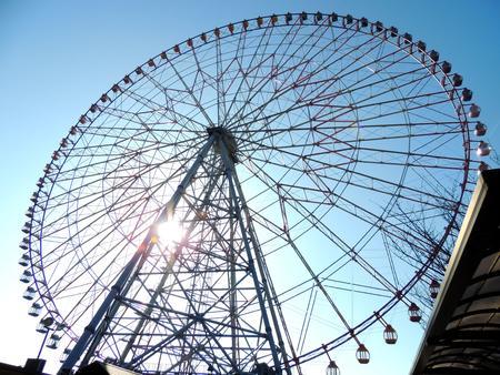 Ferris wheel of Kasai Stock Photo