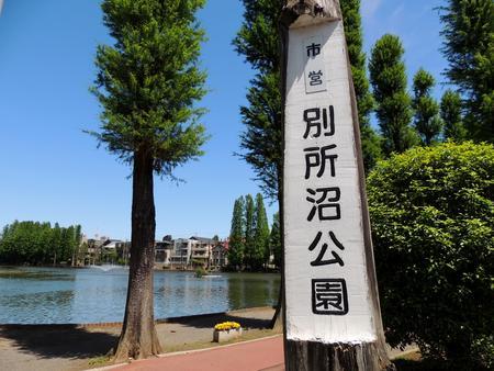 Saitama-Shi, Saitama Pref. bessho Park 写真素材