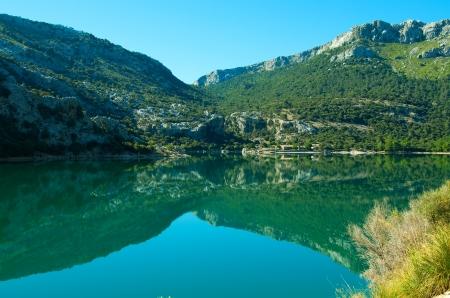blau: Embalse de Gorg Blau, Mallorca  Ballears, Spain