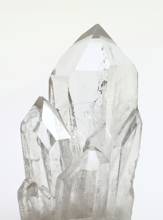 Quartz crystals photo