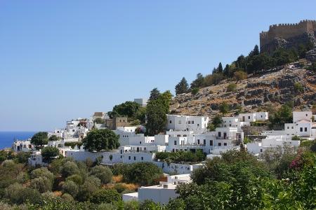 lindos: Greek city of Lindos