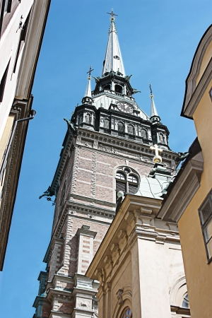 beautiful church in old Tallinn photo