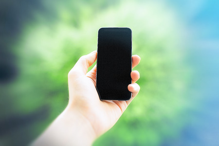 the template: Modern Smartphone Template
