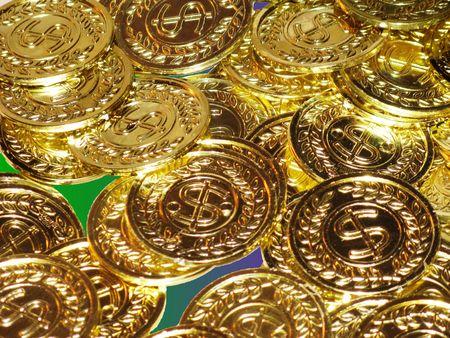 Mardi Gras coins to toss