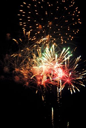 Public fireworks display