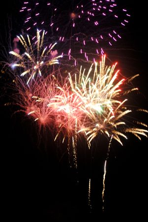 Public fireworks display Stock Photo - 7304741