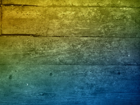 distressed: Distressed wooden board surface with gradient effect. Stock Photo
