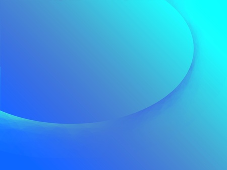 understated: A subtle swirl on a gradient background in cool shades of blue.  Plenty of copy space.