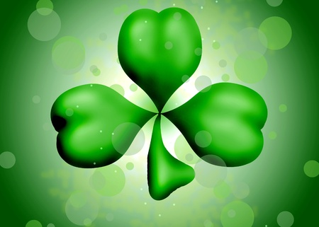 Shamrock  design Stock Photo - 12580436