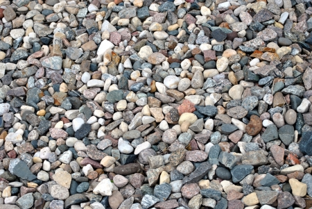 ground cover: loose stone ground cover