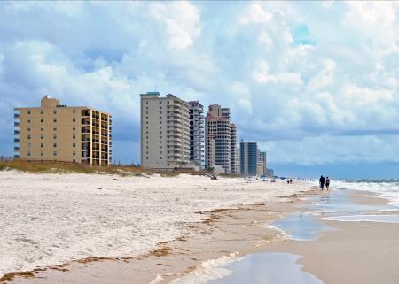 Beachfront resorts on Perdido Key in northwestern Florida USA Stock Photo - 15365797