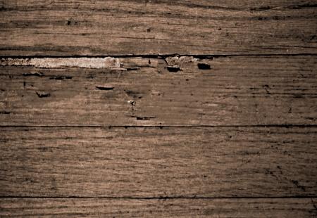 floorboards: Distressed wooden boards
