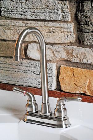 faucets: Bathroom vanity faucets.