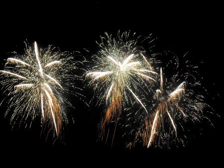 Fireworks Stock Photo - 40267745