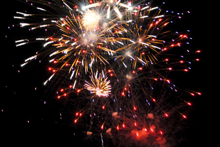 Fireworks Stock Photo - 40268251